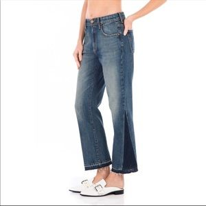 NEW Fidelity Denim Taylor Cropped Straight Jeans